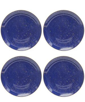Lapis Canape Plates Set of 4