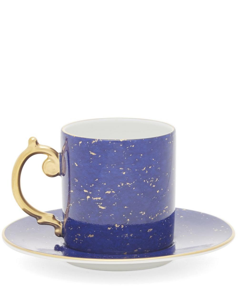 Lapis Espresso Cup and Saucer Set of 6