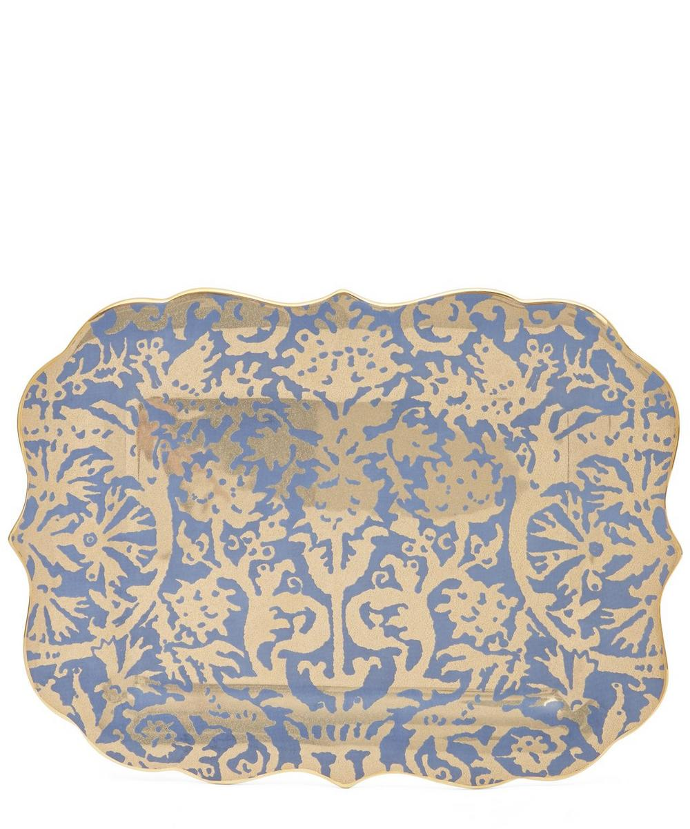 Fortuny Pergolesi Rectangular Plate