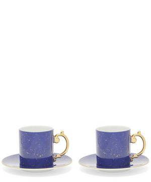 Lapis Teacup and Saucer Gift Set