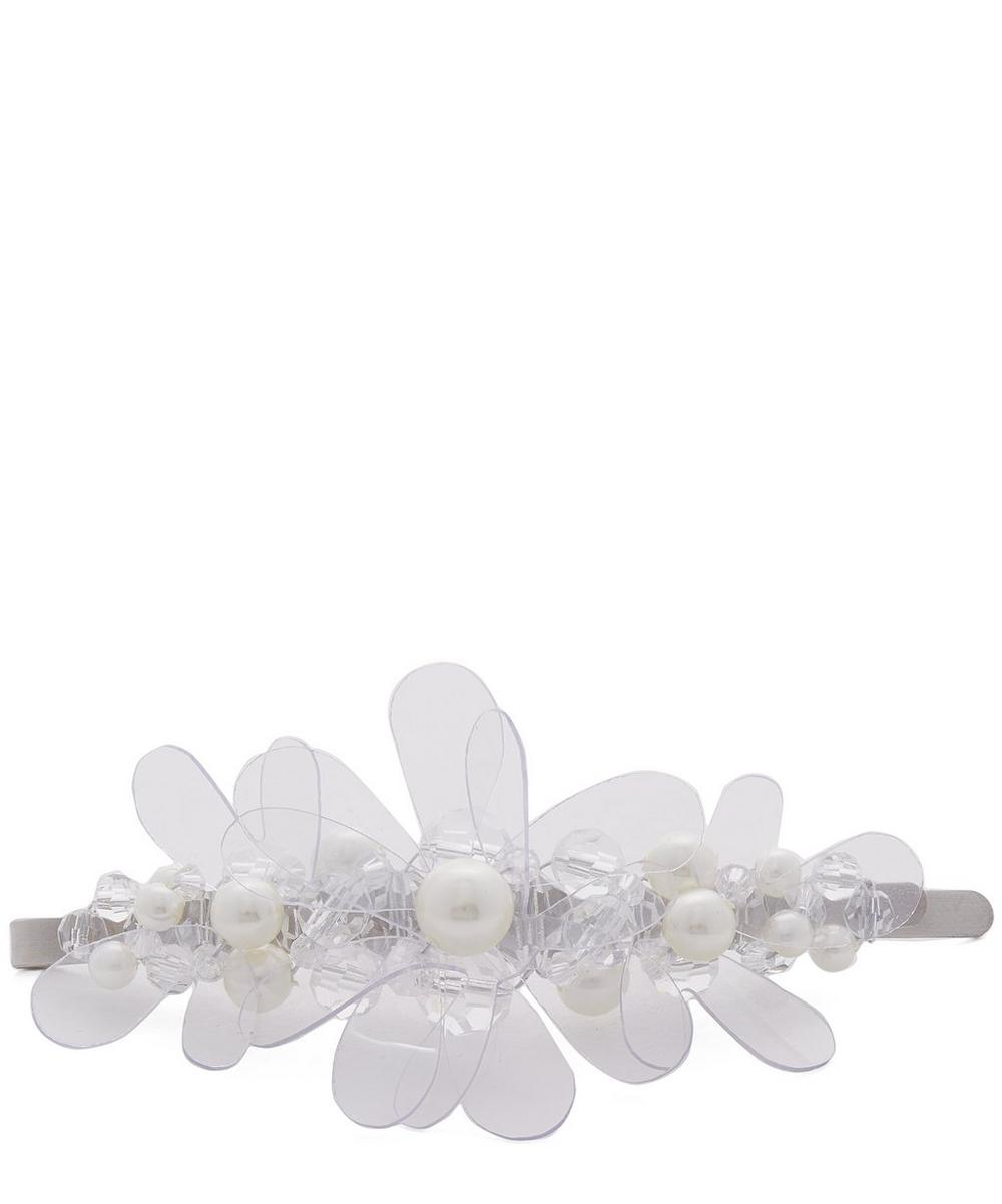 Simone Rocha Accessories Jelly Flower Hair Clip