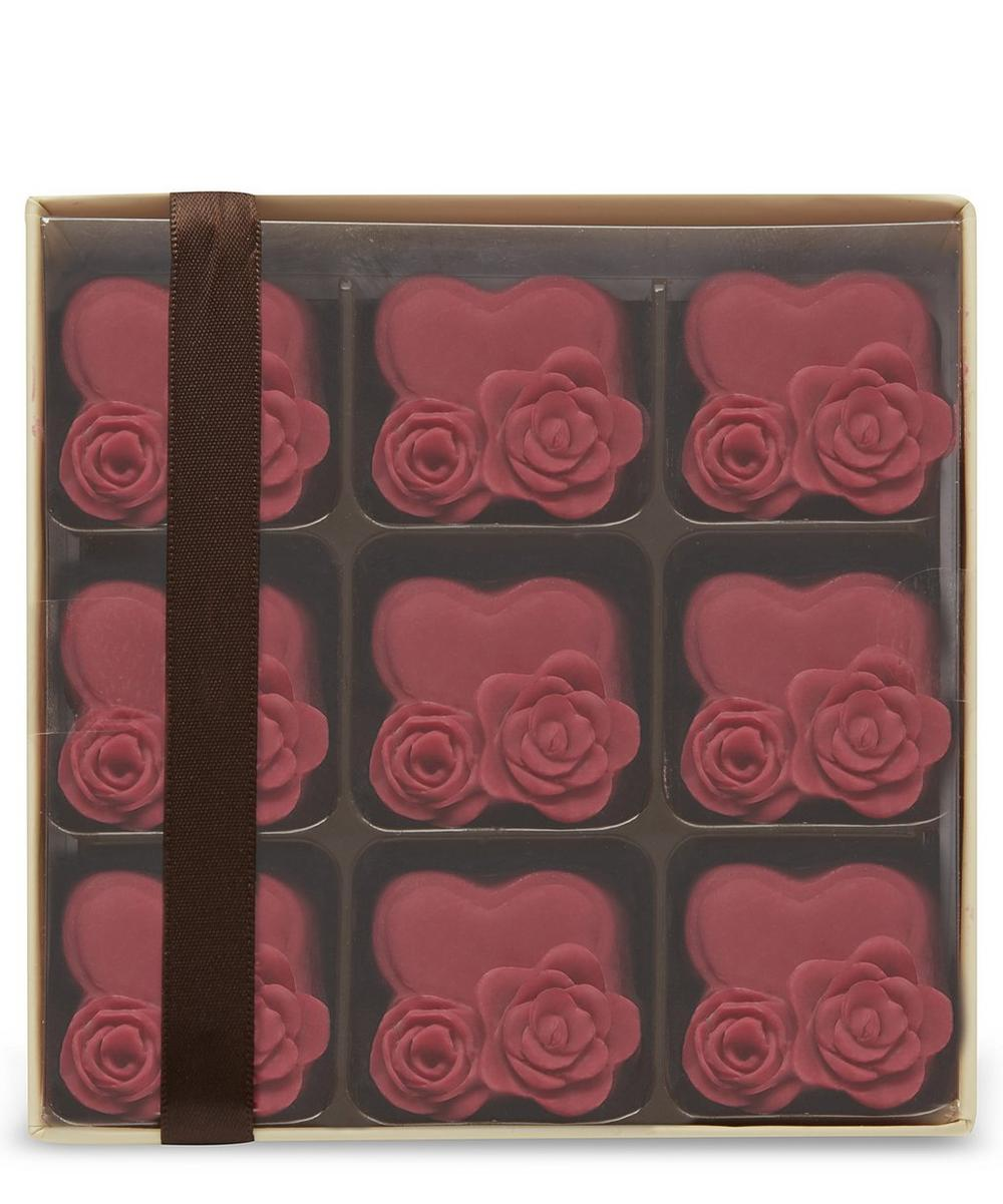Hearts and Roses Chocolate Gift 90g