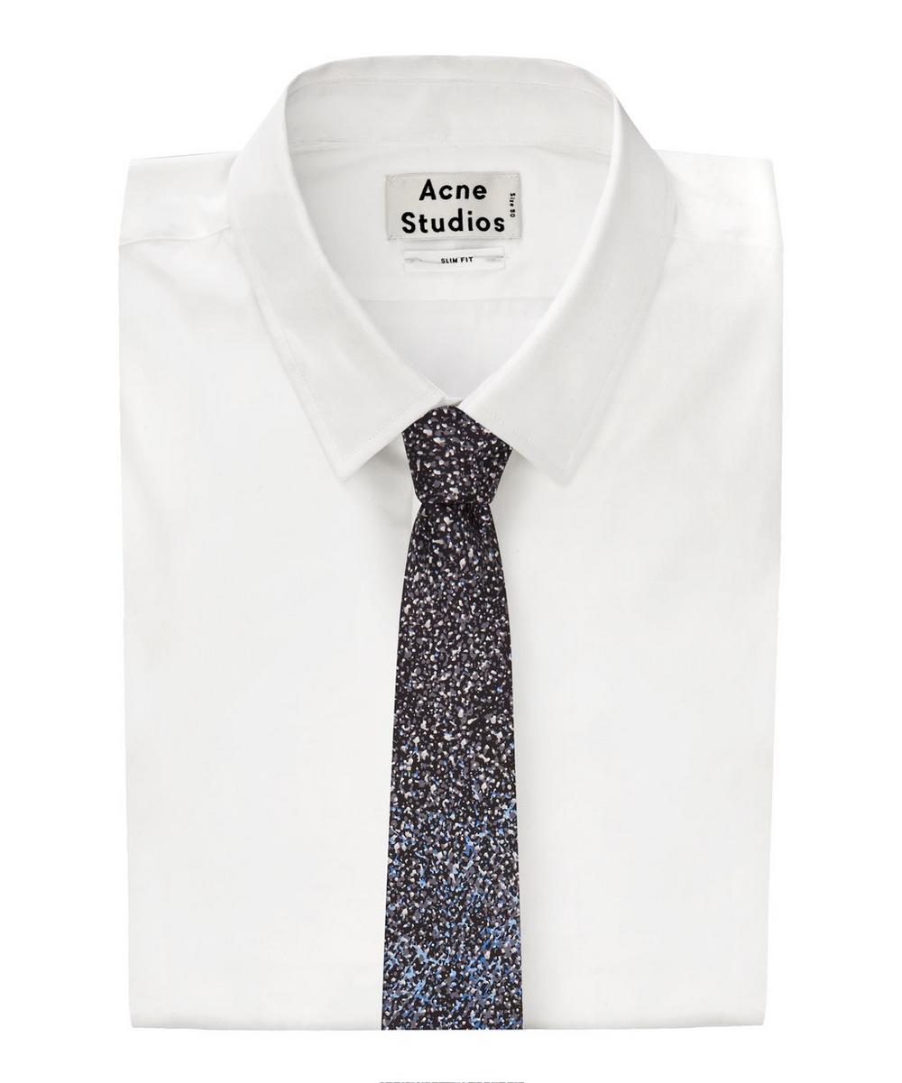 Splatter Silk Tie