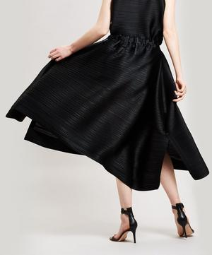 Merry Bounce Pleated Midi-Skirt