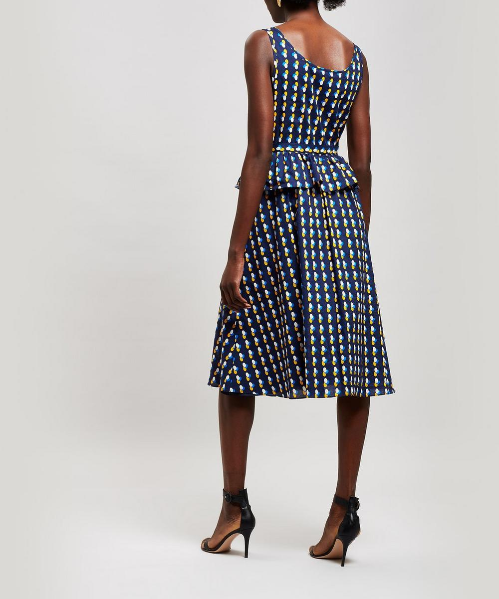 Murano Printed Midi-Dress