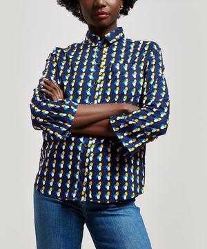 A.P.C Jules Polka Dot Cotton Shirt