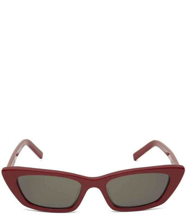 Narrow Cat-Eye Sunglasses