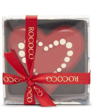 Hand-Painted Solid Milk Chocolate Heart 60g
