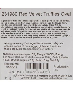 Red Velvet Truffles 110g