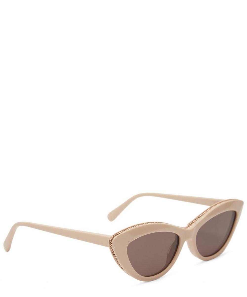 Chain Cat-Eye Sunglasses