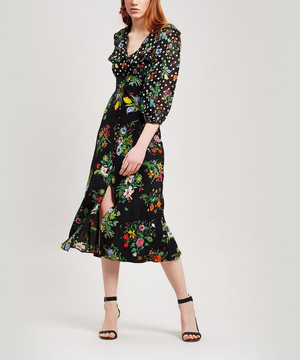 Bonnie Button Down Midi-Dress
