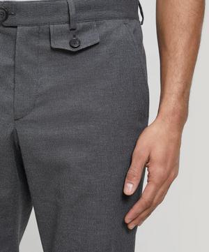 Ruben Fishtail Cotton Trousers