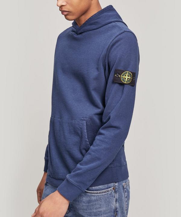 dfcdadb61369 Garment Dyed Logo Patch Hoodie ...