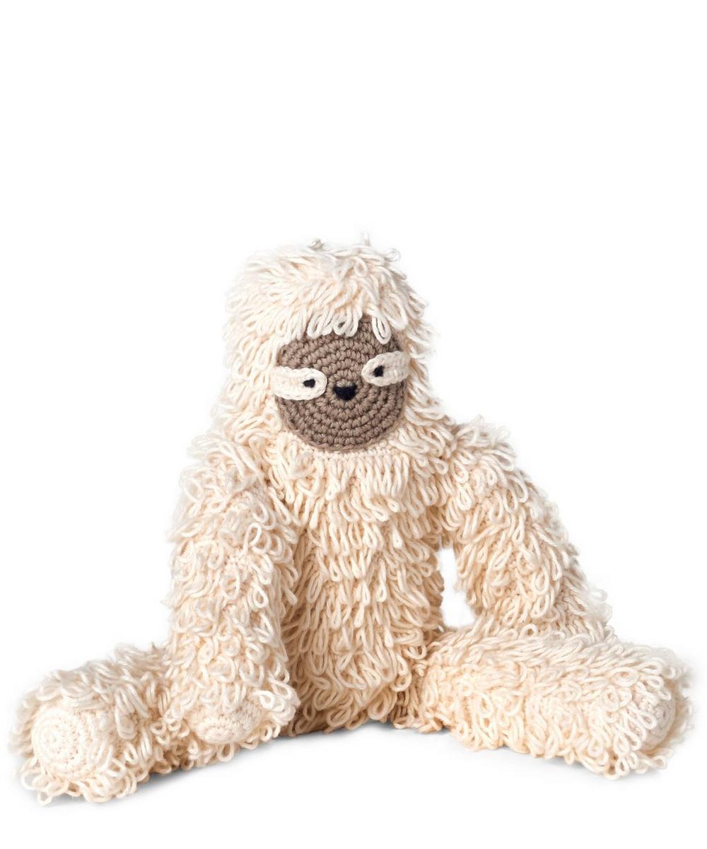 Mando Ecru Sloth Toy