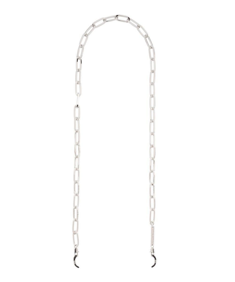 White Gold-Plated The Ron Large Chain