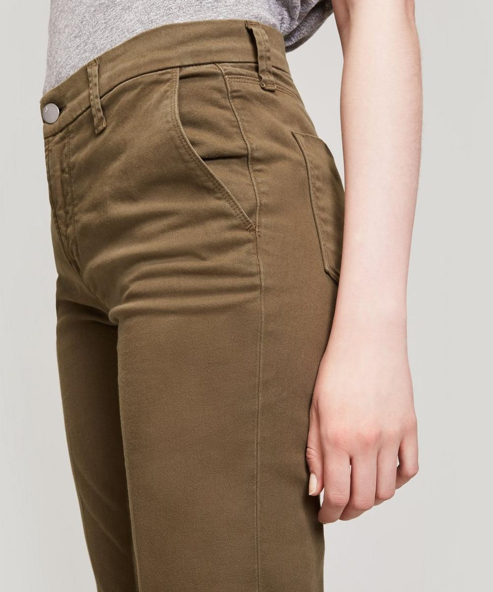 Josie Cropped Tapered Trousers