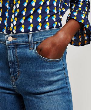 Ruby Crop High Rise Cigarette Jeans