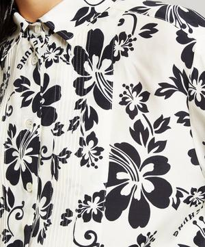 Hawaiian Flower Print Shirt