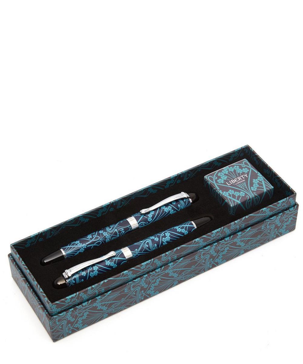 Ianthe Fountain and Ballpoint Pen Set