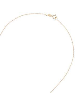Gold Enamel Star Necklace