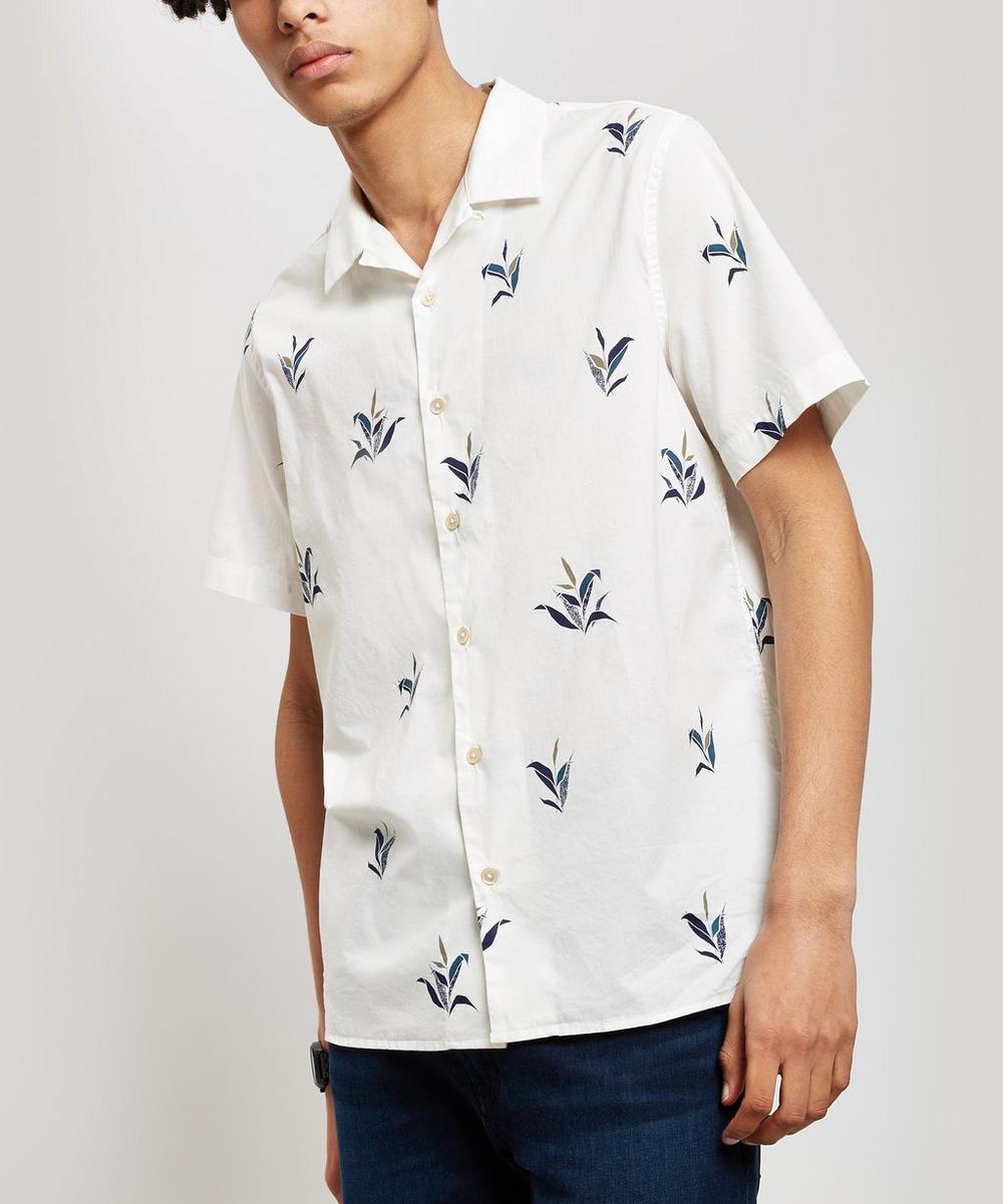 fe911323 Plant Print Short Sleeve Shirt | Liberty London