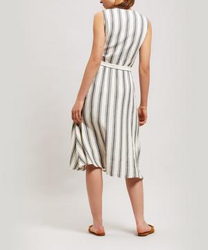 Calapunta Stripe Midi-Dress