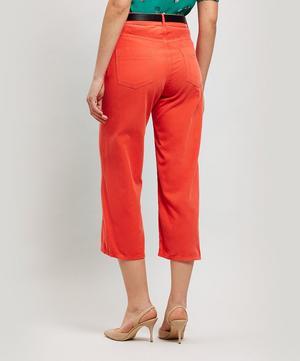 Cruzeiro Wide Leg Corduroy Trousers
