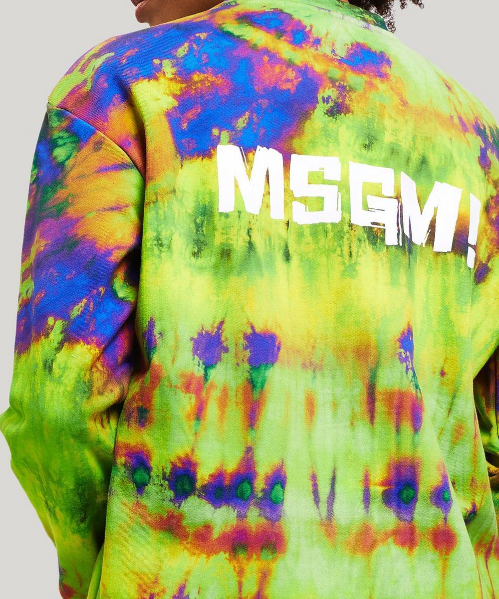Tie Dye Print Sweatshirt