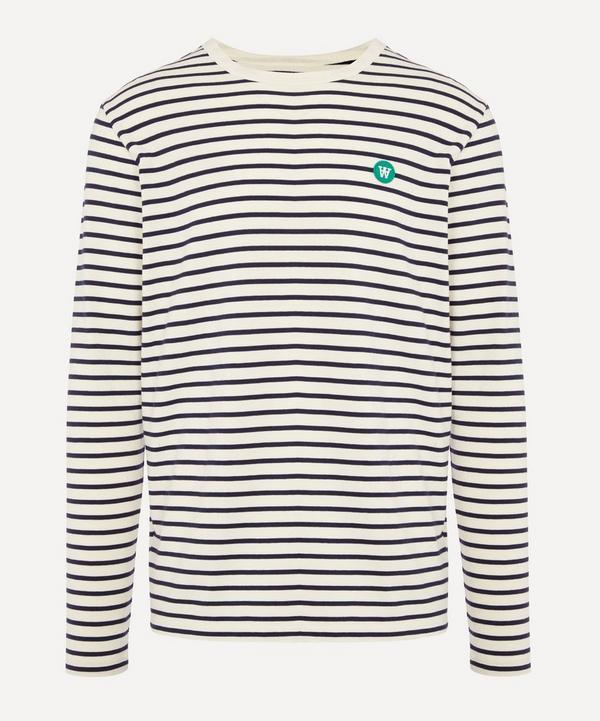 Wood Wood - Core Long-Sleeve Striped T-Shirt