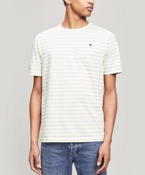 Ace Stripe Cotton T-Shirt