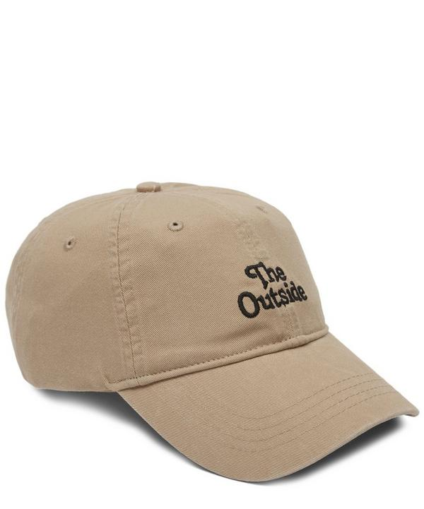 aee5096d6f2 The Outside Embroidered Cap ...