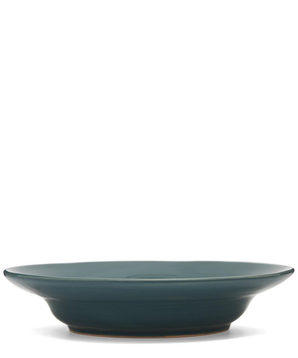 Glazed Ceramic Soup Bowl