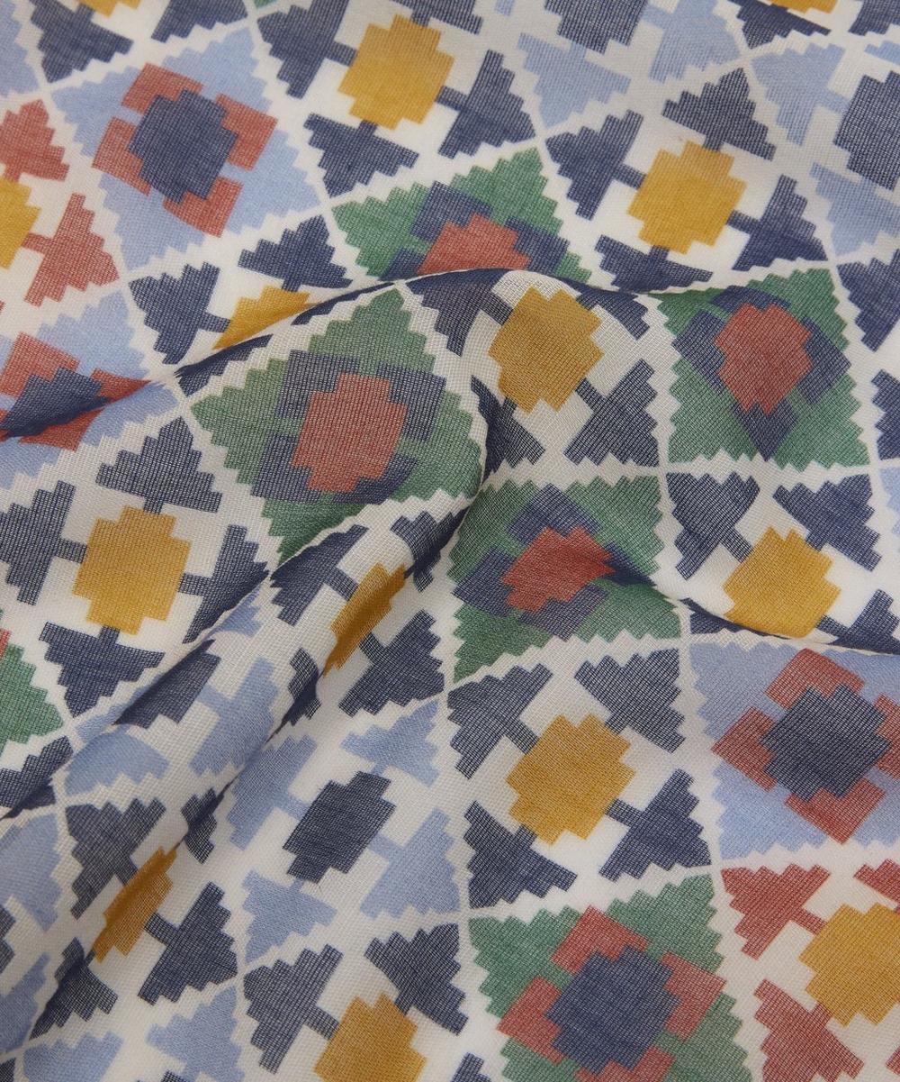 Geometric Arrow Pattern Pocket Square
