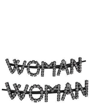 Woman Crystal Hair Pins