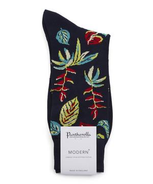 Tange Tropical Floral Cotton-Blend Socks