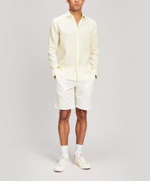 Italian Linen Long Sleeve Shirt