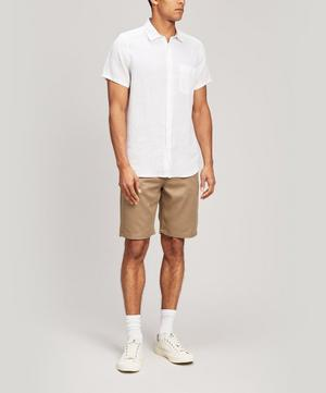 Italian Linen Short Sleeve Shirt
