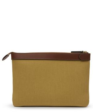 Canvas Zip Top Pouch