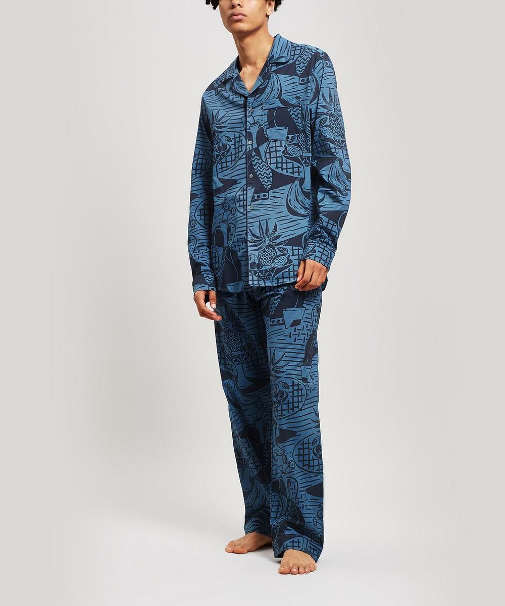 The Cubist Still Life Print Pyjama Shirt