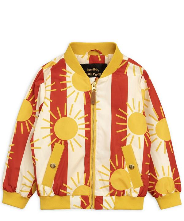 Sun Stripe Baseball Jacket 12-18 Months