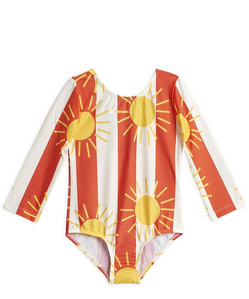 Sun Stripe Long Sleeve Swimsuit 12-18 Months