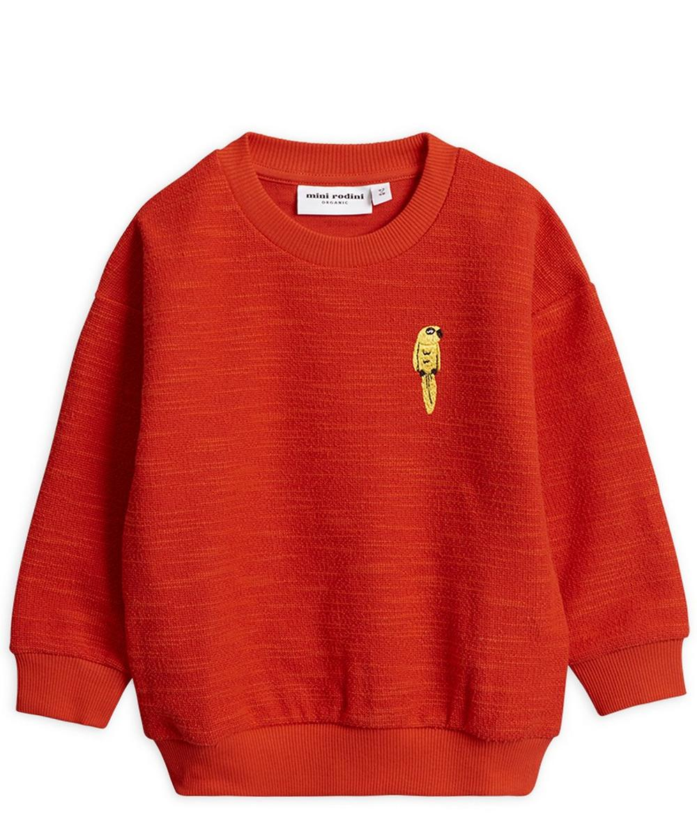 Parrot Organic Cotton-Blend Sweatshirt 12-18 Months