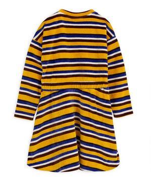 Velour Stripe Dress 12-18 Months