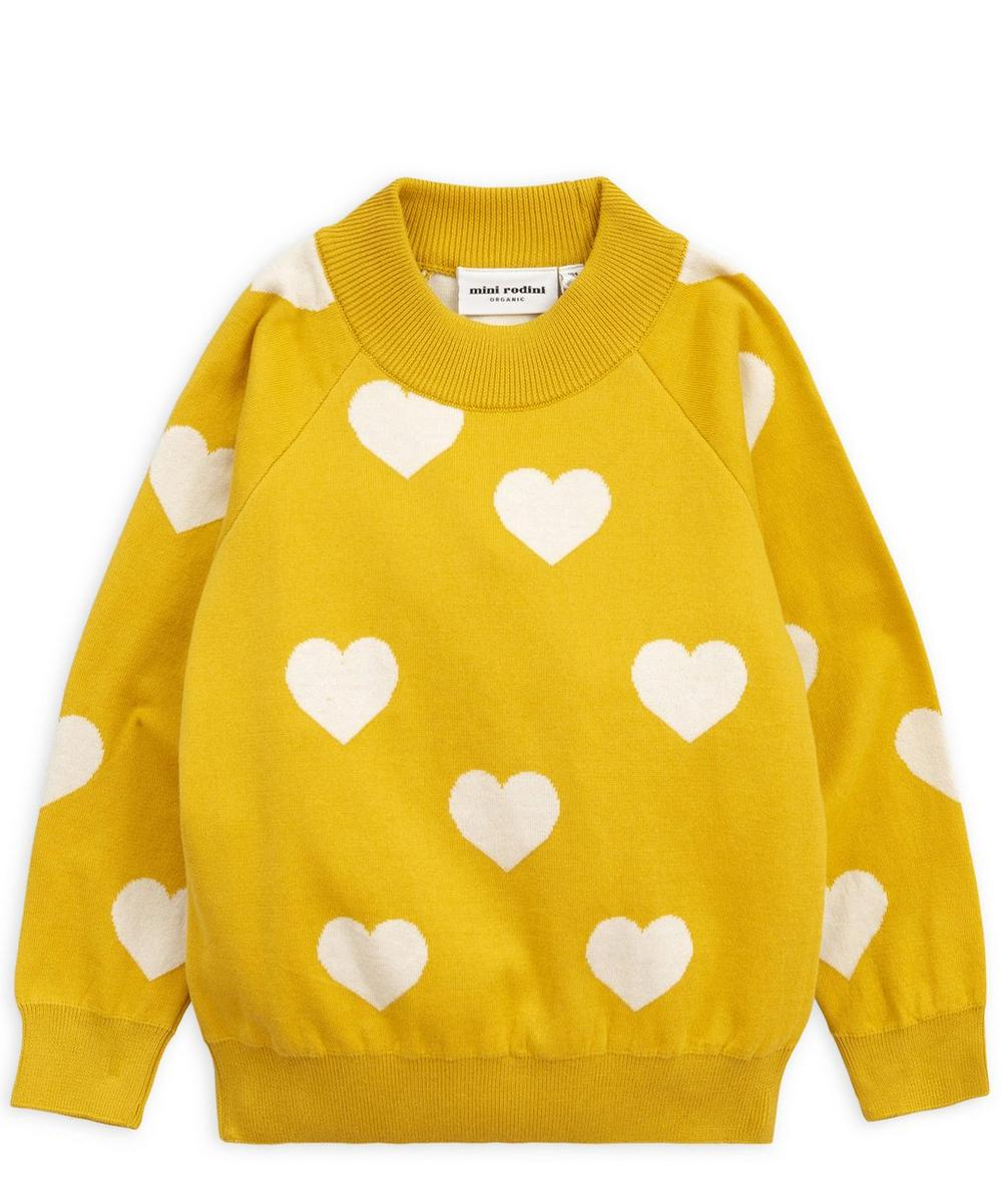 Knitted Heart Sweater 2-8 Years