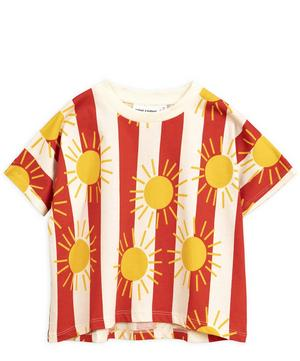Sun Stripe T-Shirt  2-8 Years