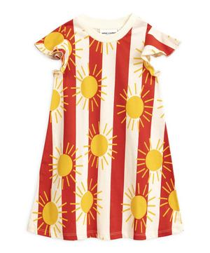 Sun Stripe Wing Dress 2-8 Years
