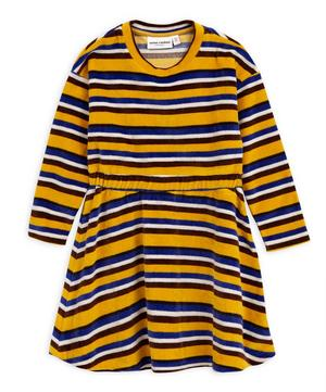 Velour Stripe Dress 2-8 Years