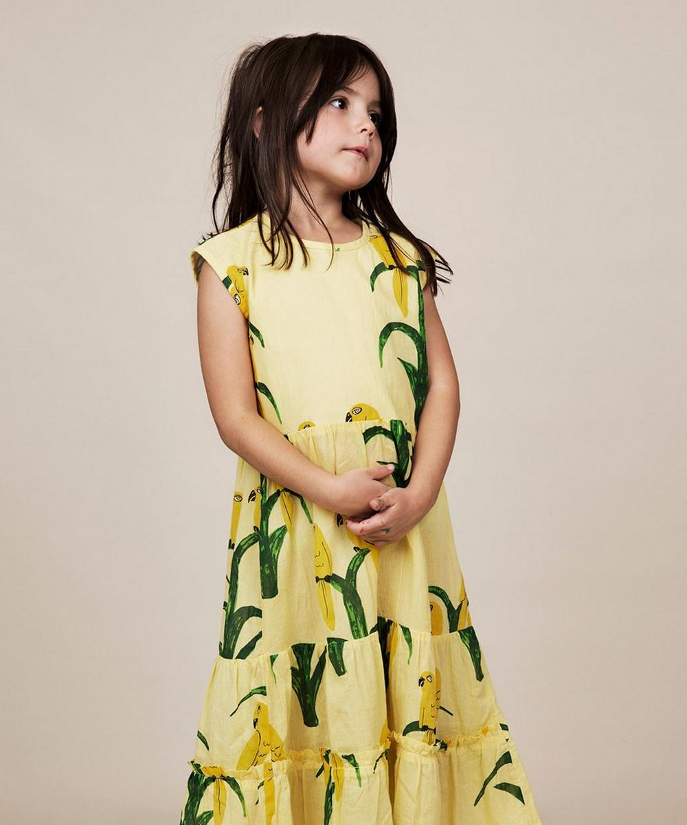 Parrot Woven Dress 2-8 Years