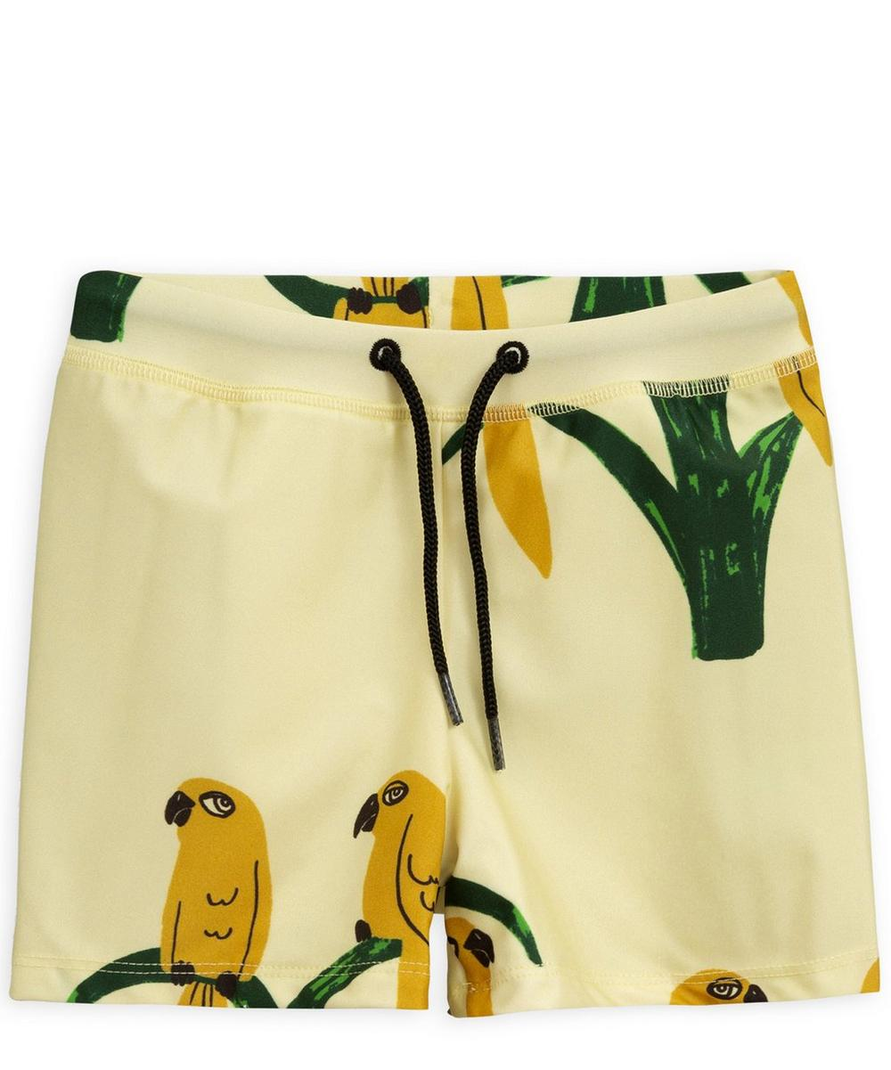 Parrot Swimming Trunks 2-6 Years