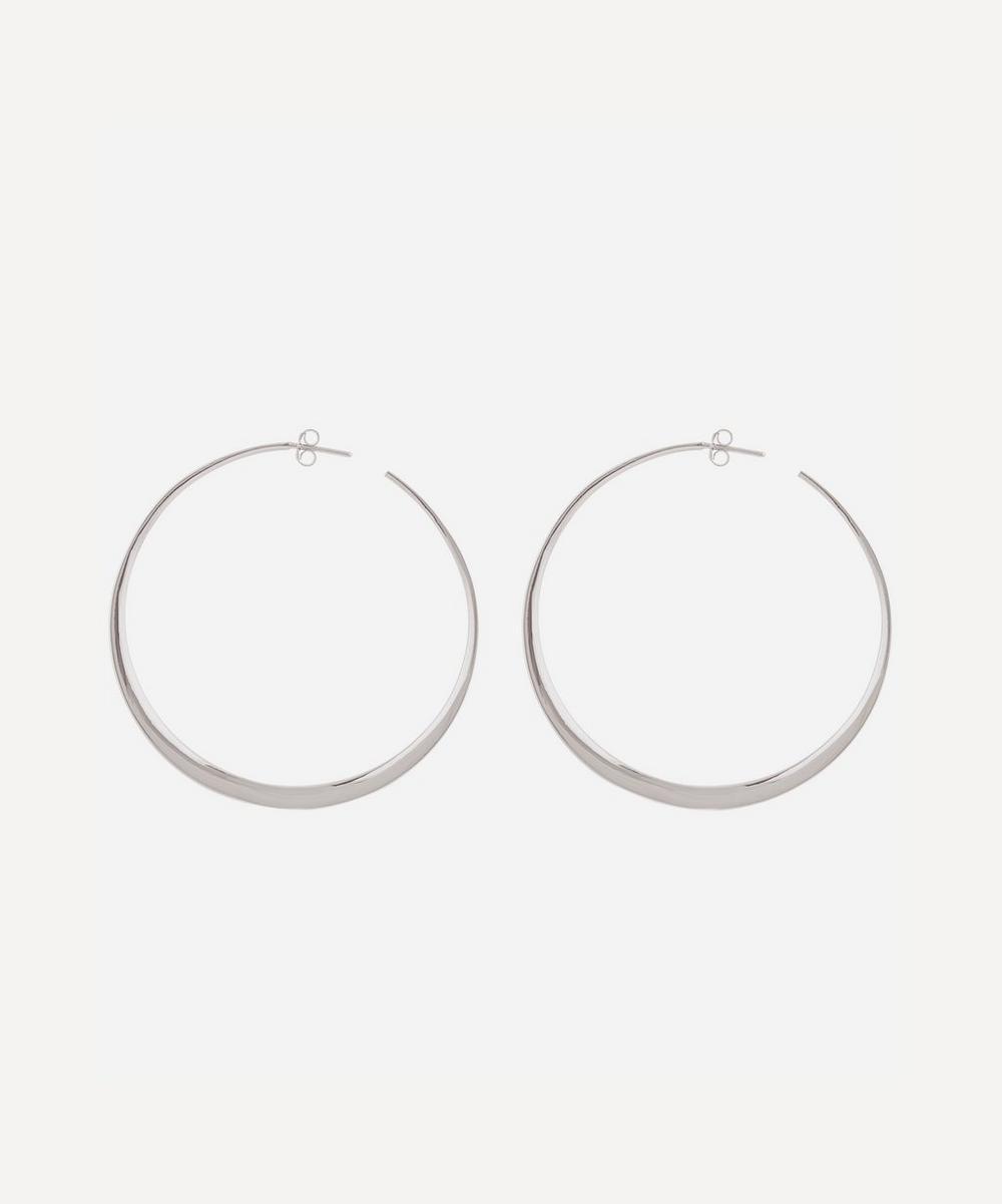 Dinny Hall - Silver Signature Large Hoop Earrings